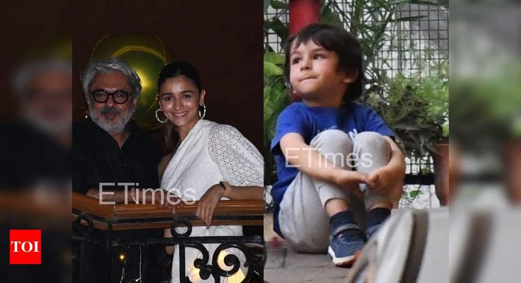 Etimes Paparazzi Diaries: Alia Bhatt attends Sanjay Leela Bhansali's birthday bash, Taimur Ali Khan enjoys a playdate – Times of India