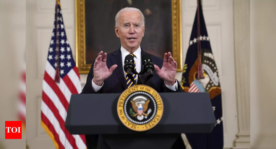 Biden lifts Trump-era ban blocking legal immigration to US - Times of India