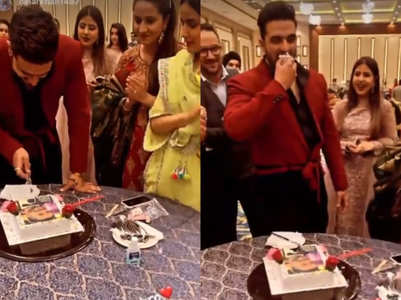 Aly Goni celebrates b'day with family