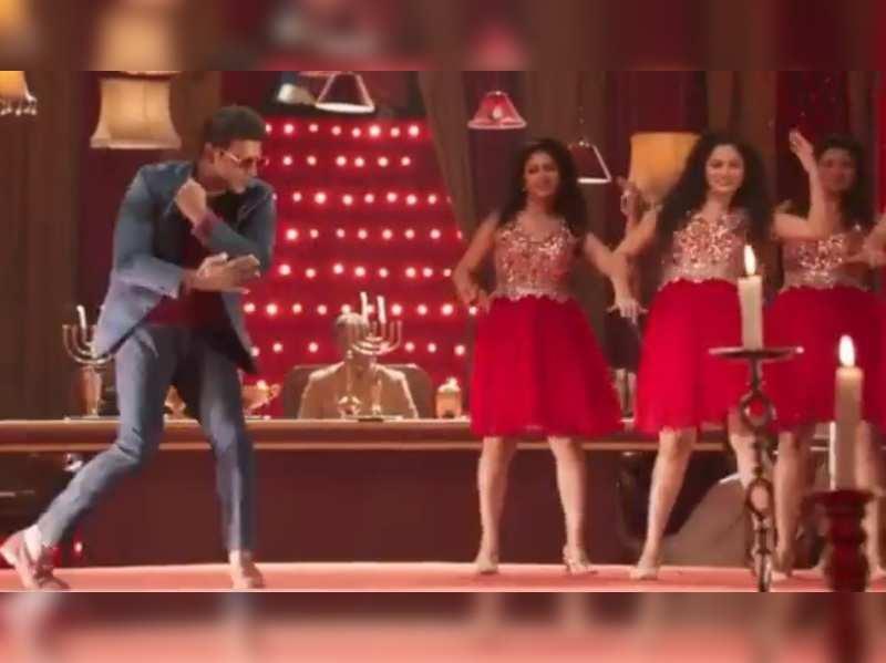 Santhosh Anandram gives fans a peek into Yuvarathnaa's fun dance number Oorigobba Raaja