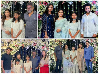 Celebs at Sukumar's daughter's function
