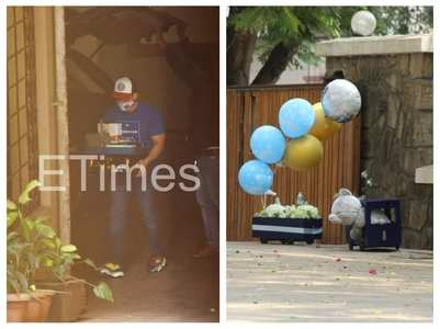 Pics from naming ceremony of Bebo's 2nd kid
