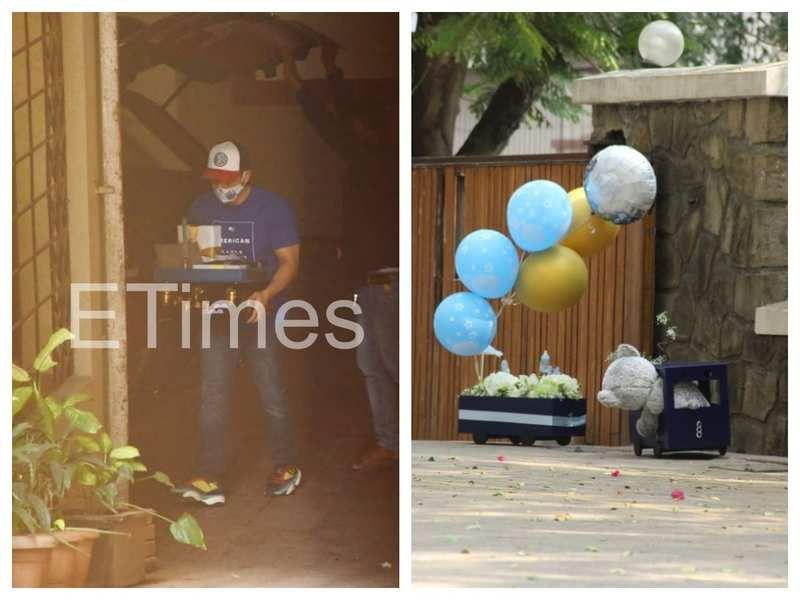 Photos: Ahead of naming ceremony of Kareena Kapoor and Saif Ali Khan's second child, gifts pour in from friends and well-wishers