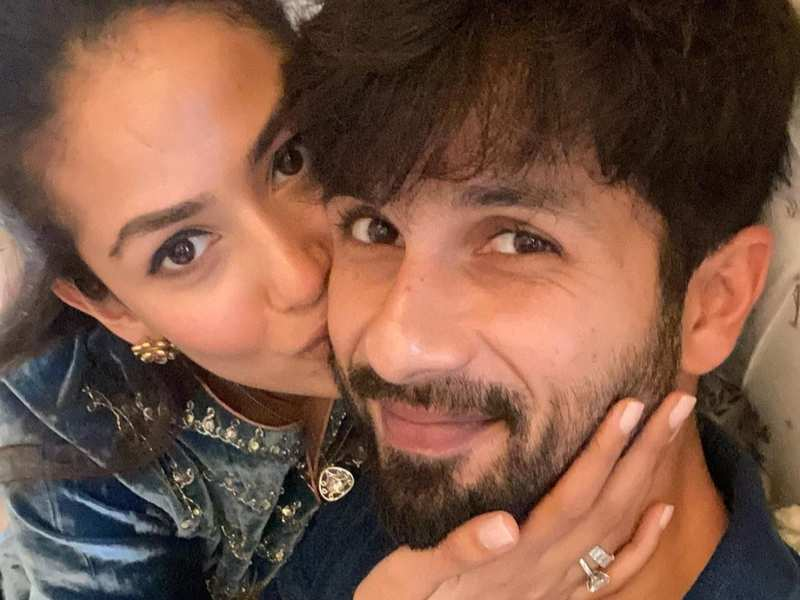 Mira Rajput shares a mushy photo with the 'love of her life' Shahid Kapoor on his 40th birthday