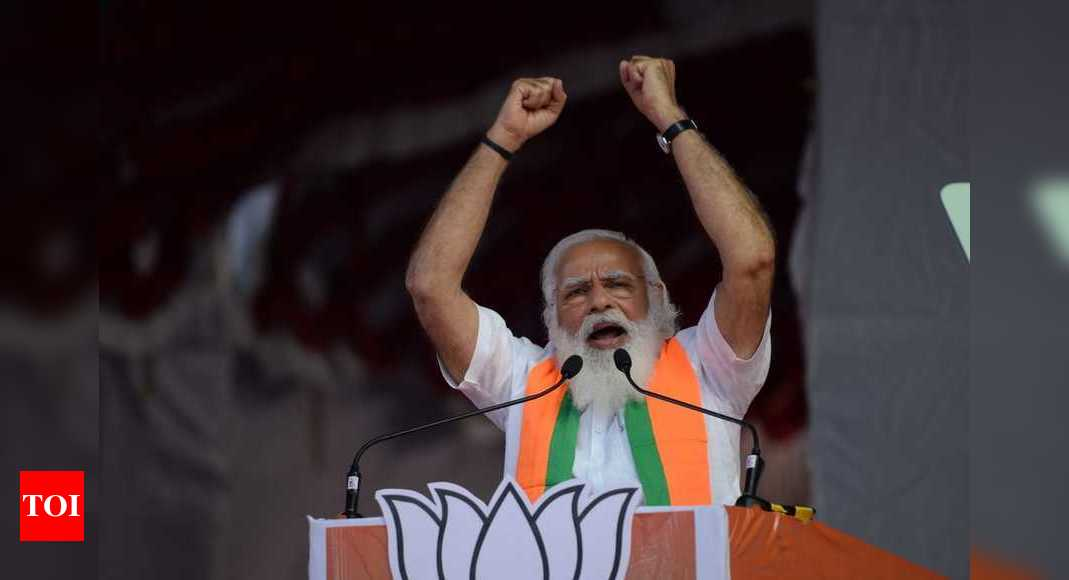 DMK-Congress leaders' meetings are like corruption hackathons: PM Modi | India News – Times of India