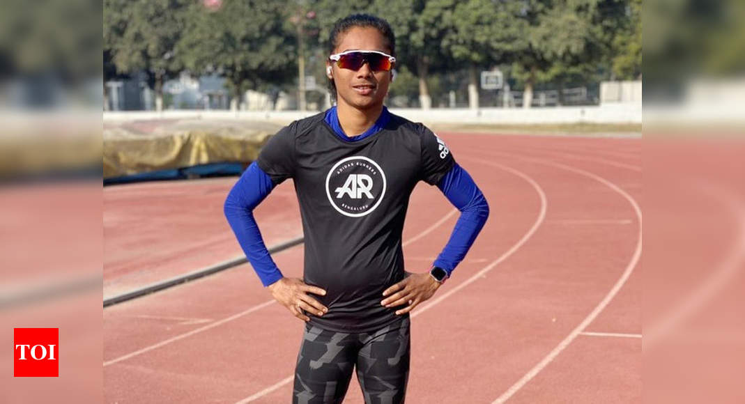 Indian GP: Hima Das wins 200m gold in her first race after more than a year | More sports News – Times of India