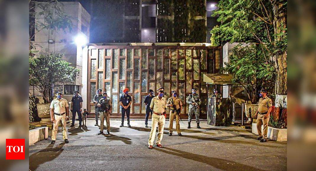SUV with explosives found: Driver stayed inside vehicle near Mukesh Ambani home at night for hours