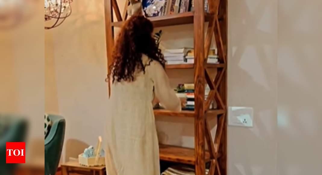 Kangana decorates her brother's house