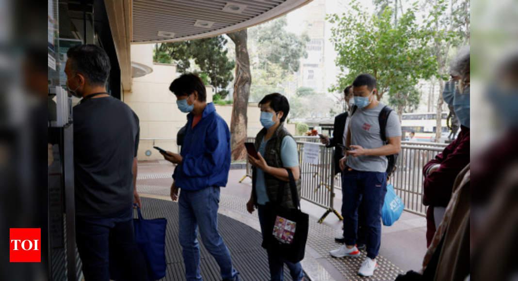 Hong Kong and South Korea start coronavirus vaccination drives - Times of India