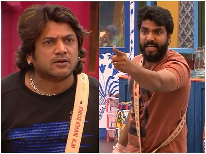 Bigg Boss Malayalam 3: Firoz Khan and Anoop Krishna engage in an ugly spat; the latter says 'you don't have the rights to judge me'