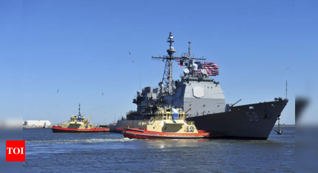 2 US Navy warships in Mideast affected by coronavirus