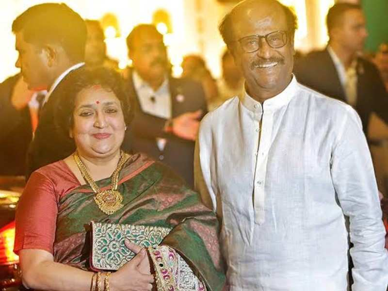 Fans pour in wishes as Superstar Rajinikanth celebrates his 40th wedding anniversary