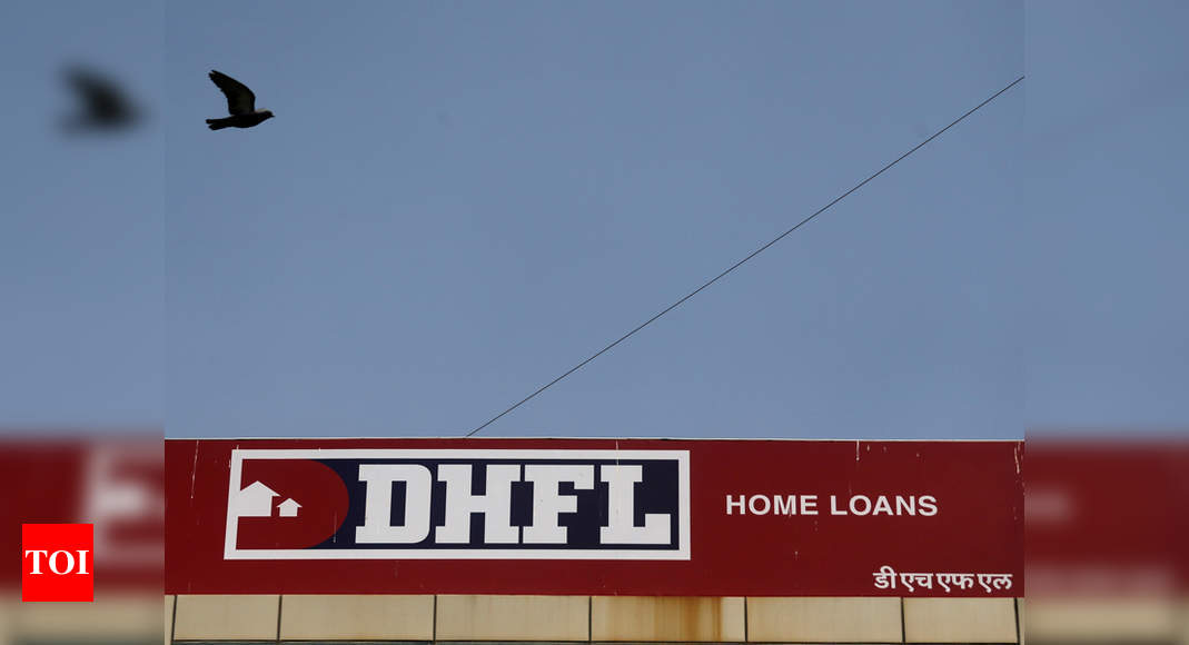 DHFL stock hits upper circuit on filing application with NCLT for submission of resolution plan - Times of India