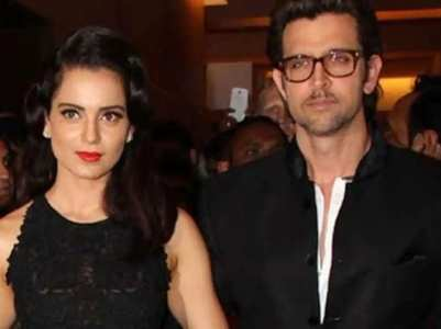 Kangana reacts to Hrithik recording statement