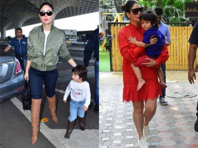 Top cool mom looks that we absolutely love on Kareena Kapoor Khan