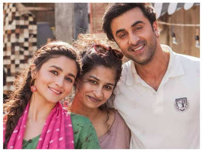 Ranbir & Alia shoot for a commercial
