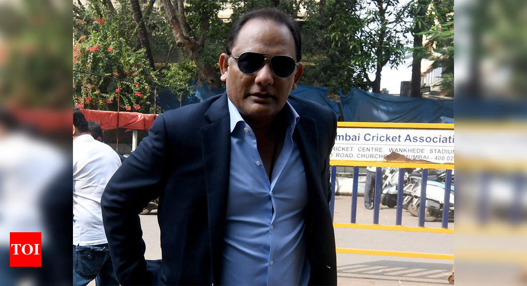 Right shoes can work wonders when batting on dry tracks, says Azharuddin | Cricket News – Times of India