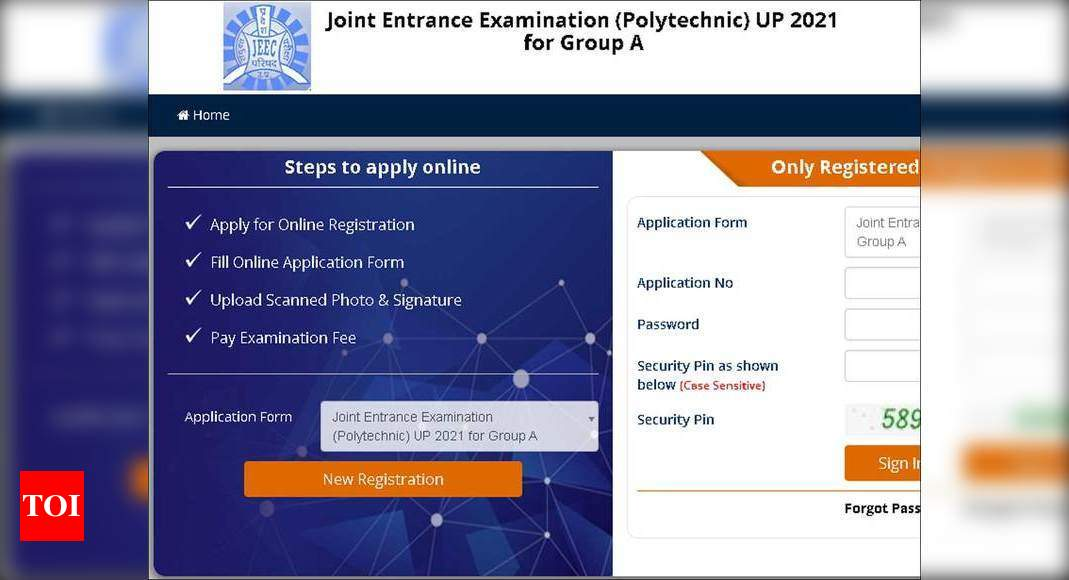 UPJEE 2021 registration begins at jeecup.nic.in, apply here – Times of India
