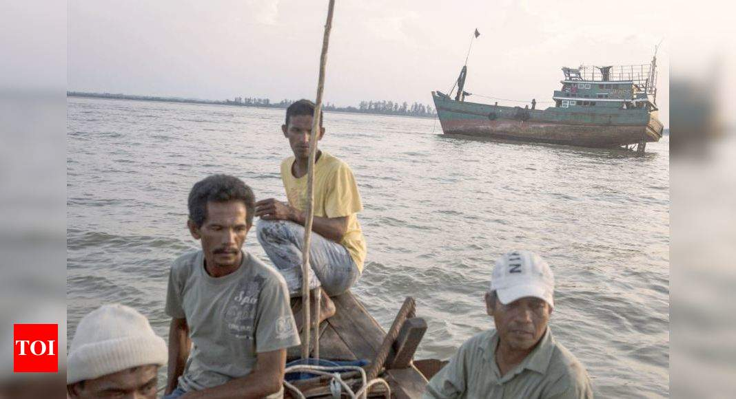 Coast Guard find 81 Rohingya adrift at sea, asks Bangladesh to take them – Times of India