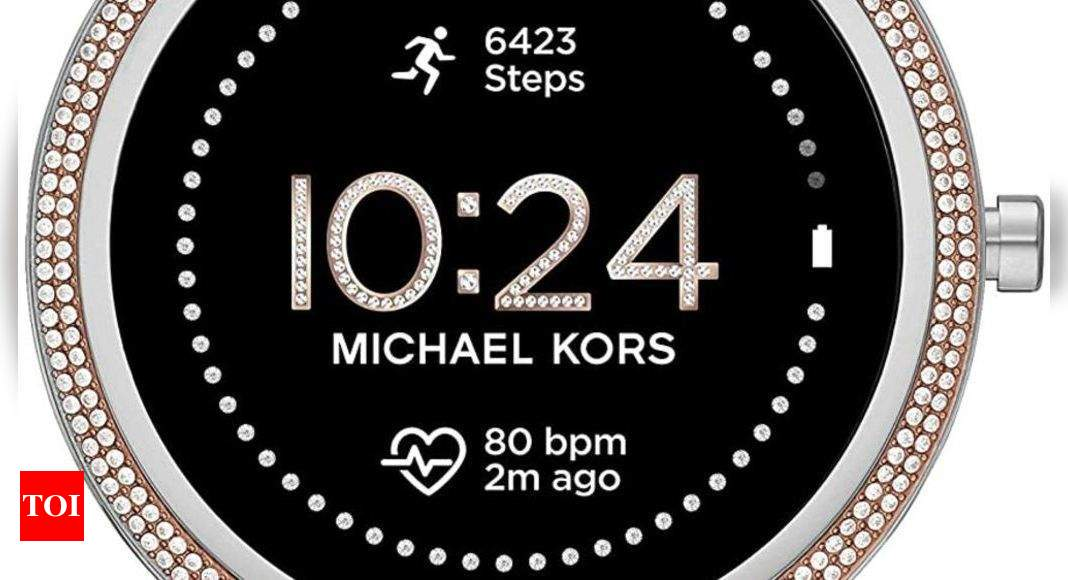 Michael Kors:  Michael Kors launches Gen 5E smartwatch, priced at Rs 25,995 – Times of India