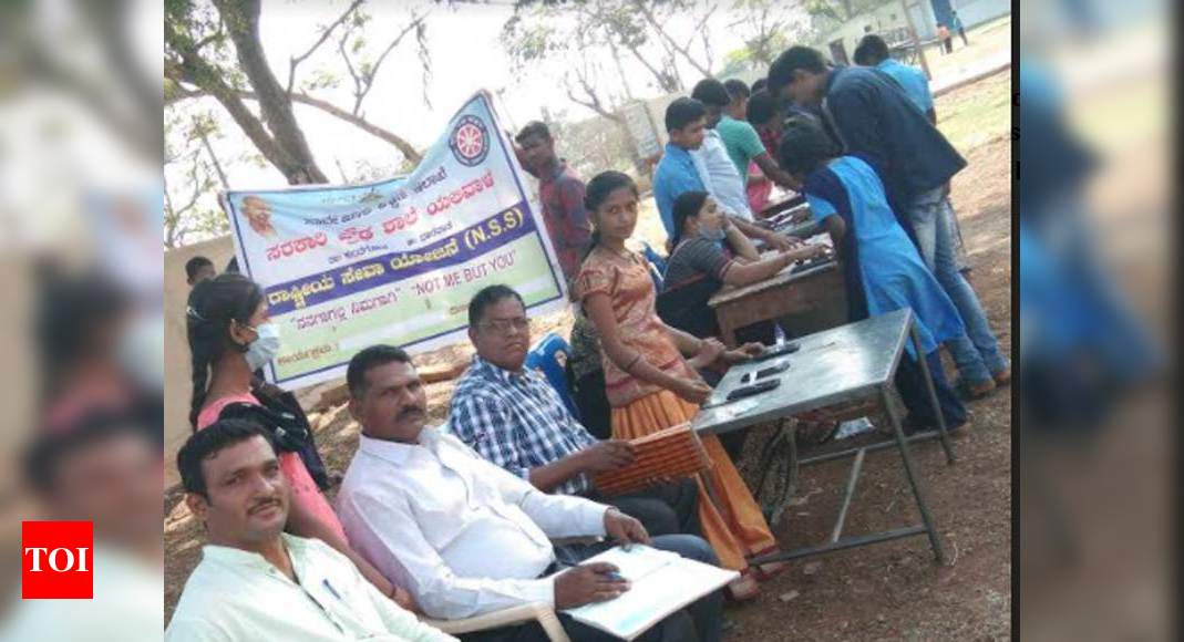 College students of govt highschool use EVM app to elect their representatives – Times of India
