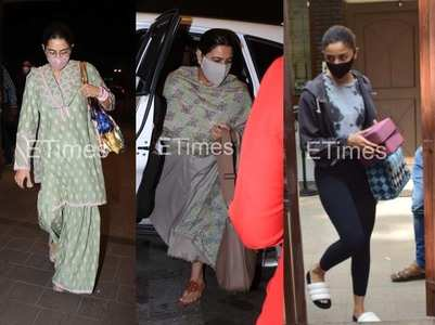 Pap Diary: Alia's yoga session, Sara at airport