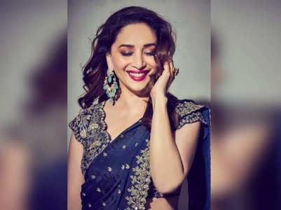 Madhuri charms fans with stunning pics