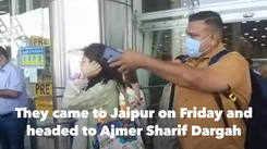 Sara Ali Khan, Amrita Singh spotted at Jaipur airport