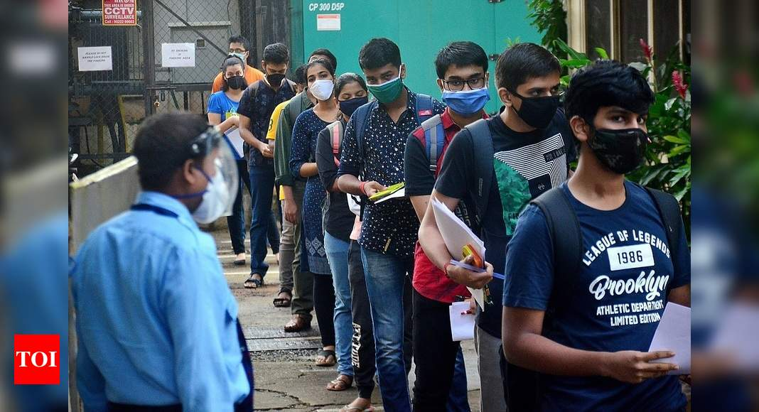 At 95%, JEE(M) sees record attendance | India News – Times of India