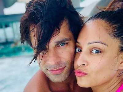 Bipasha and Karan's loved-up pictures