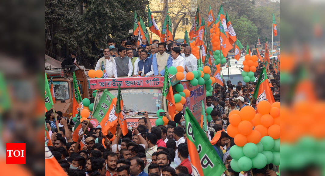 West Bengal assembly polls: BJP looks east, hopes for Southern swing - Times of India