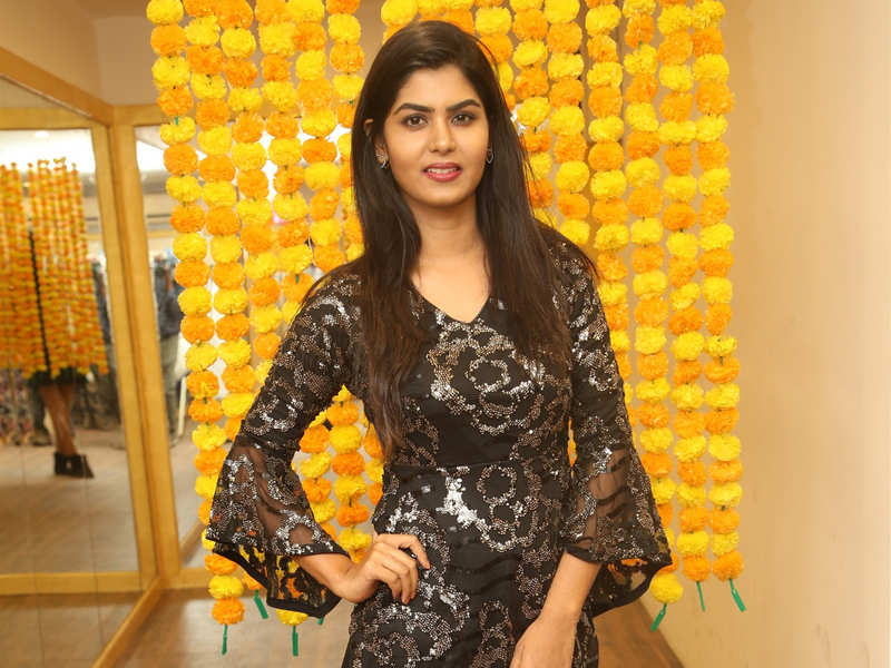 Actress Upasana attends the launch of a tattoo shop at Alwarpet