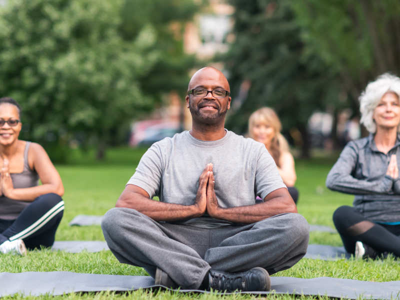 Laughter yoga: What it is and how it works