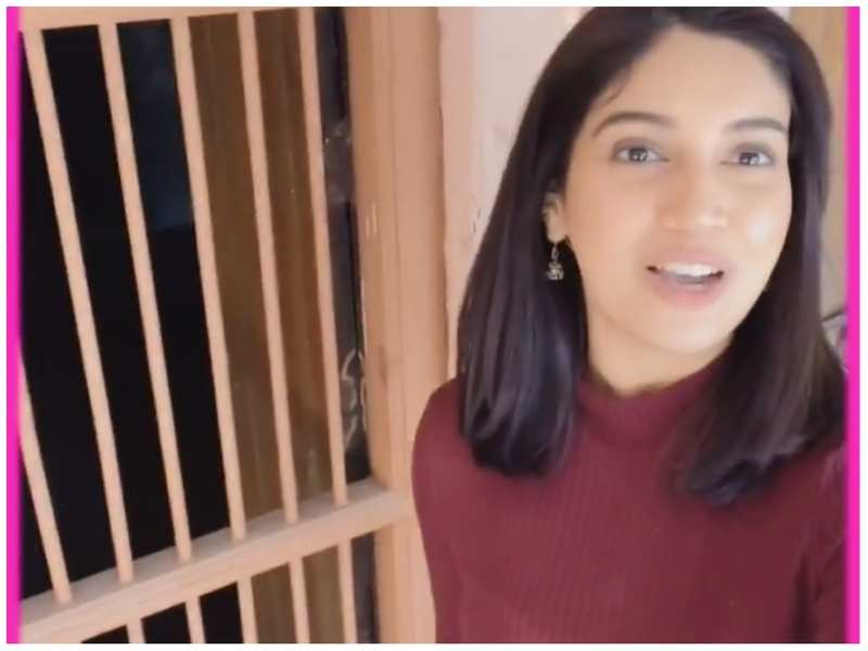 Bhumi Pednekar takes a trip down memory lane as she revisits the place where it all started