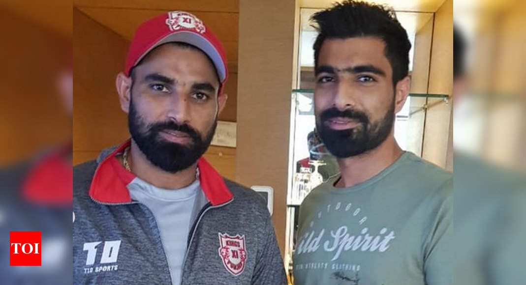 Mohd. Shami congratulates brother Kaif on Vijay Hazare debut