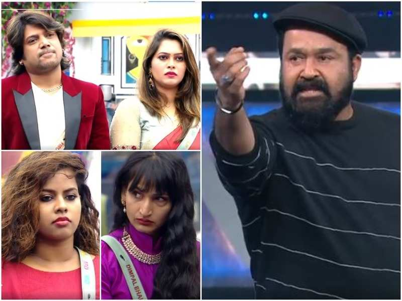 Bigg Boss Malayalam 3 preview: Mohanlal is furious with Firoz, Sajna and Michelle