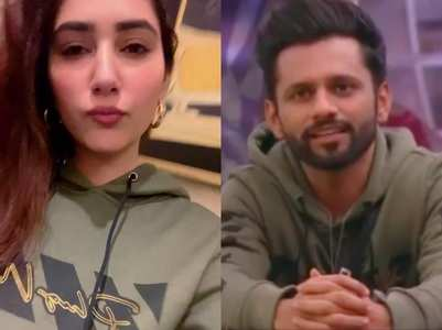 Rahul Vaidya's gf Disha sports his hoodie