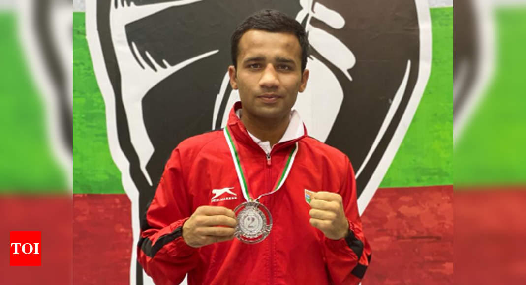 Deepak settles for silver, India finish with two medals at Strandja boxing meet | Boxing News – Times of India