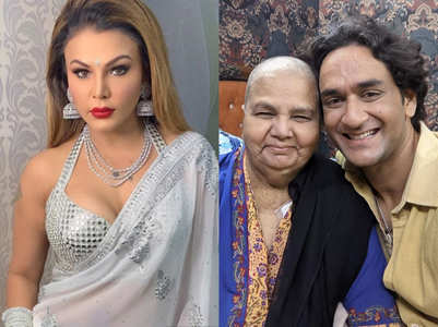Vikas Gupta meets Rakhi Sawant's ailing mother