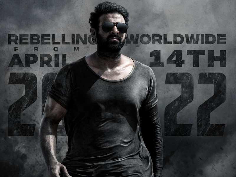 Salaar release date: Prashanth Neel's Prabhas and Shruti Haasan starrer to hit screens on April 14, 2022