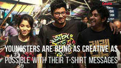 T-shirts with slogans speak louder than actions for Kolkata youngsters