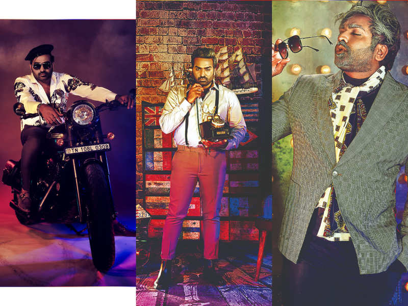 Vijay Sethupathi gets three new looks for his latest photoshoot