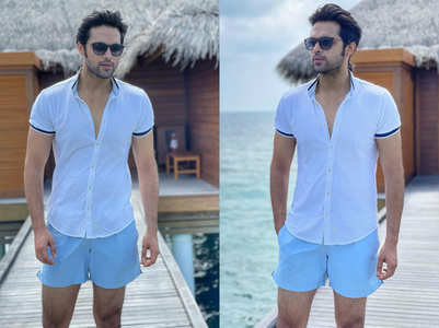 Parth Samthaan's memorable Maldives trip