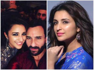 Parineeti's first crush was Saif Ali Khan
