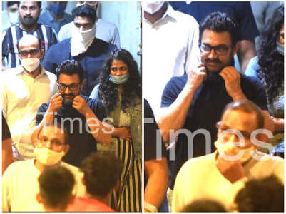 Excl! Aamir Khan gets spotted in the city