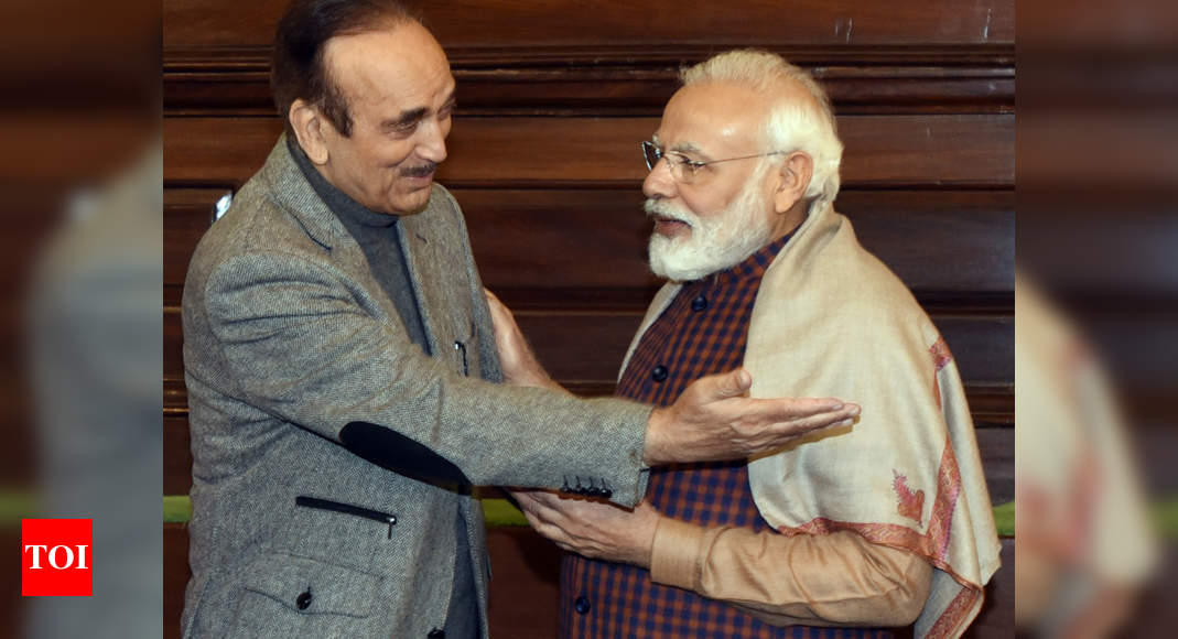 Azad returns Modi praise, calls PM a man 'true to his self' | India News – Times of India
