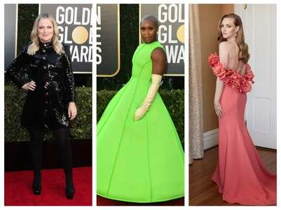 Golden Globe: Stars amp up the red carpet