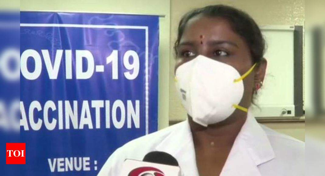 What PM Modi told nurse who gave him Covid vaccine shot – Times of India