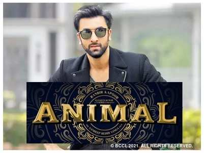 Ranbir's 'Animal' to release on in 2022