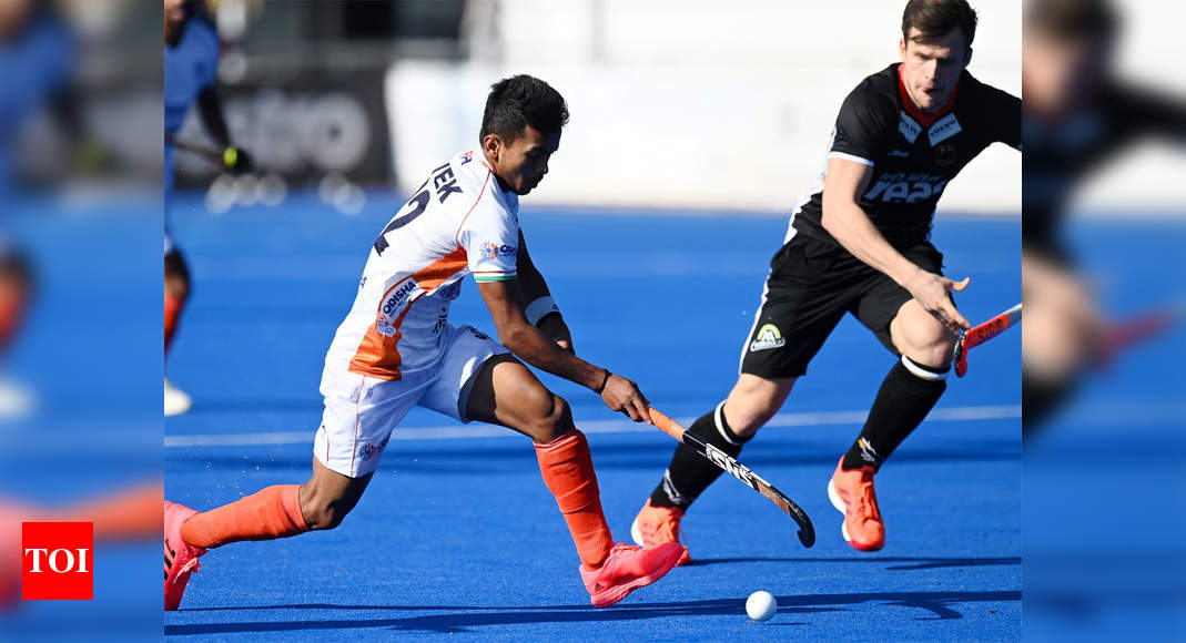 India 'shake up' Germany on return to hockey pitch but fans feel robbed of live action - Times of India